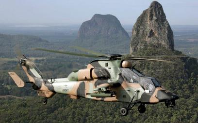 Australijski śmigłowiec bojowy Tiger ARH. Fot./ Departament Obrony Australii.