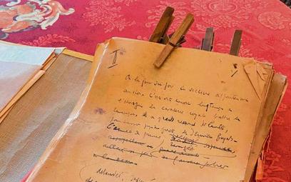 Jeden z rękopisów Céline'a, których fakt posiadania po latach ujawnił dziennikarz i krytyk teatralny
