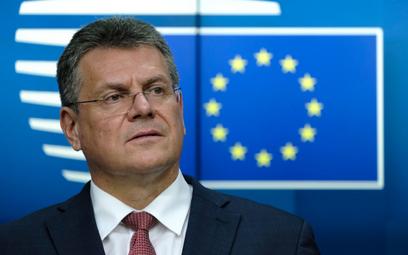 Maroš Šefčovič to unijny komisarz ze Słowacji