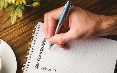 Jak dotrzymać zawodowych postanowień noworocznych?
