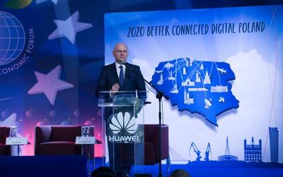 Wiceprezes Orange Polska Piotr Muszyński wskazywał, że bezpieczeństwo sieci to priorytet.