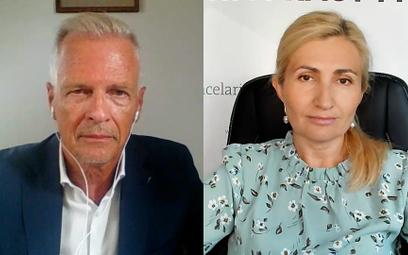 Wojciech Brochwicz i Magdalena Rycak