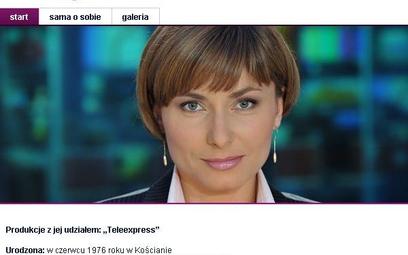 Biografia Katarzyny Trzaskalskiej cały czas jest dostępna na stronie Telewizji Polskiej