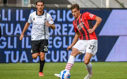 Daniel Maldini w meczu ze Spezią strzelił swojego pierwszego gola w barwach Milanu