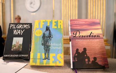 Książki Abdulrazaka Gurnaha