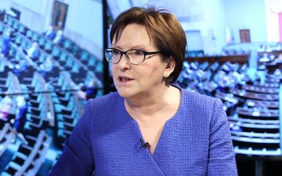 Kopacz: Trzeba przywrócić godność urzędu prezydenta. Będę namawiać Tuska
