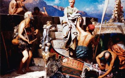 """Obraz Henryka Siemiradzkiego tytułowany """"Odprawa Katarzyny Cornaro – Królowej Cypru"""" został sprzedan"""