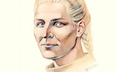 Ingegerda Szwedzka, żona władcy Rusi, miała skandynawska urodę.