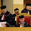 Sędziowie Trybunału Konstytucyjnego (obecnie w stanie spoczynku): Marek Mazurkiewicz (L), Ewa Łętows