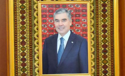 Prezydent Gurbanguly Berdymuchomedow