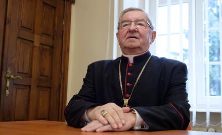 Abp Sławoj Leszek Głódź w 2017 r., czyli jeszcze przed karą nałożoną przez Watykan