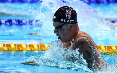 Brytyjczyk Adam Peaty ustanowił w Gwangju pierwszy rekord świata – na 50 m stylem klasycznym
