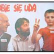 Plakat lubelskiej Solidarności na wybory 1989 roku. Autorce Irenie Nawrot-Trzcińskiej pozowali: nież