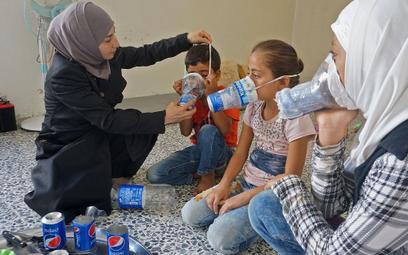 Cywile w prowincji Idlib obawiają się użycia przez siły Asada broni chemicznej