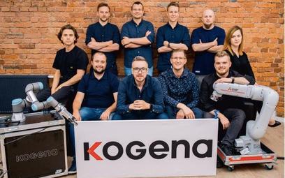 Zespół start-upu Kogena stworzył platformę do zarządzania cobotami. Korzysta z niej m.in. Unilever.