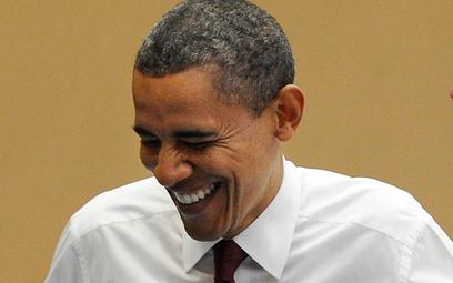 Jak może wyglądać spotkanie Baracka Obamy z polskimi politykami? Oto jeden z wariantów...