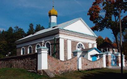 Świątynia prawosławna w Nakryszkach