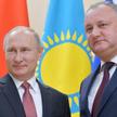 Władimir Putin i Igor Dodon podczas grudniowego szczytu WNP