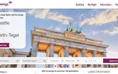 W zeszłym roku obroty platformy Eurowings.com wyniosły prawie miliard euro
