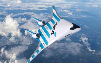 Airbus Maveric. Rewolucyjny samolot o konstrukcji latającego skrzydła