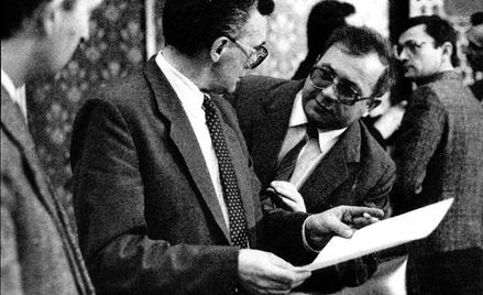 Jacek Ambroziak, szef URM (z lewej), i Andrzej Kosiniak-Kamysz, minister zdrowia (z prawej), podczas
