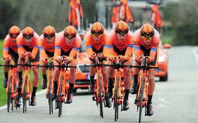 Polska grupa CCC Sprandi Polkowice trzeci raz pojedzie w Giro.