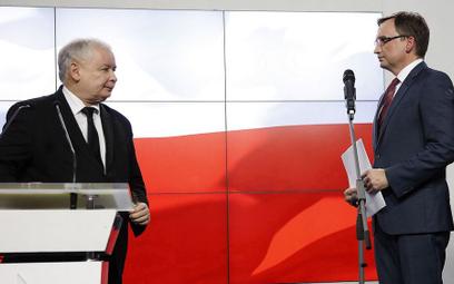 Michał Szułdrzyński: Dlaczego musiało dojść do konfliktu Ziobry z Kaczyńskim