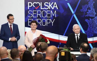 Dąbrowska: Prezes zabrał PiS-owi triumf