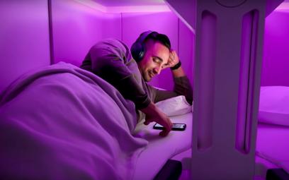 Łóżka w klasie ekonomicznej. Linie lotnicze testują nowe rozwiązanie