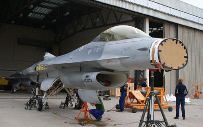 Jeden z nielatających F-16A przekazanych Polsce przez Stany Zjednoczone w 2012 r. Fot./Łukasz Pachol