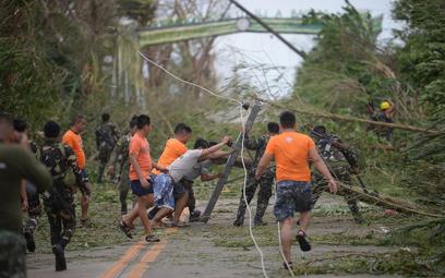 Supertajfun uderzył w Filipiny. Są ofiary