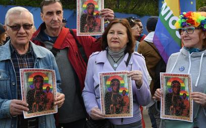Protest w Warszawie po zatrzymaniu Elżbiety Podleśnej