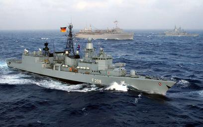 Chiny nie wpuściły do portu niemieckiego okrętu wojennego