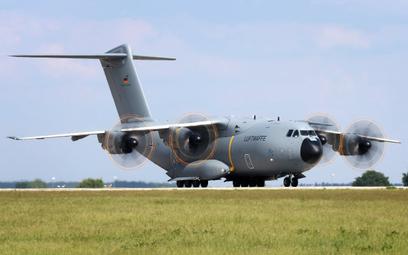 Samolot transportowy Airbus A400M Atlas niemieckiej Luftwaffe. Fot./Ministerstwo Obrony Niemiec.