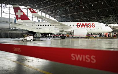Bombardier CS 100 C linii Swiss