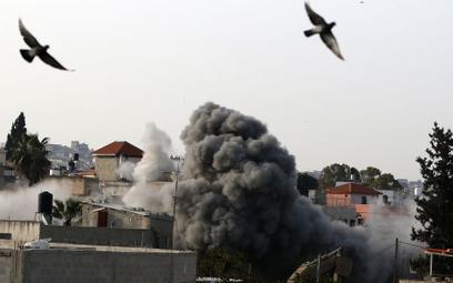 Izrael zburzył dom Palestyńczyka oskarżonego o zamach