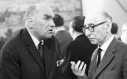 Jarosław Iwaszkiewicz przyjaźnił się z Antonim Słonimskim od czasów przedwojennych, gdy obaj działal