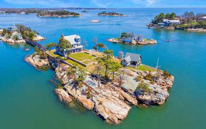 Uroczy wiktoriański dom na prywatnej wyspie na sprzedaż