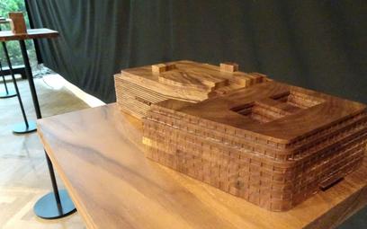 Na zdjęciu - model wrocławskiej Renomy