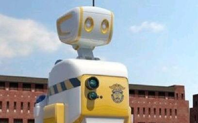 Robot strażnik więzienny