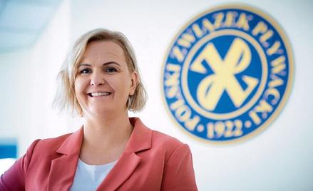 Otylia Jędrzejczak pod koniec września została nową prezes Polskiego Związku Pływackiego