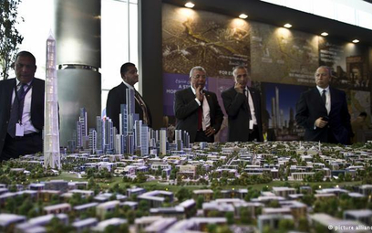 Makieta nowej stolicy administracyjno-biznesowej Egiptu