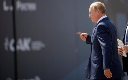 Władimir Putin na otwarciu MAKS 2021