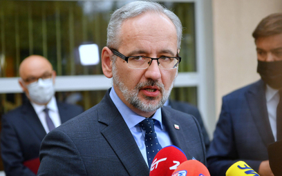 Sondaż. Polacy ocenili ministra Adama Niedzielskiego. Negatywnie