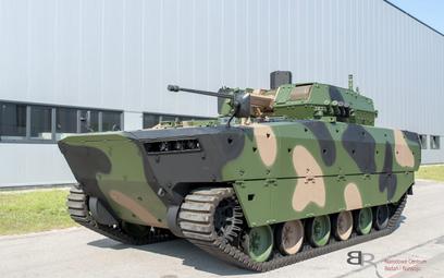 Bojowy wóz piechoty Borsuk. Fot./HSW