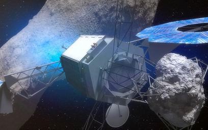 Najpierw asteroidę zbada automatyczna sonda.