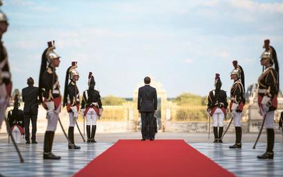 Emmanuel Macron w Wersalu, 12 września 2018 r.