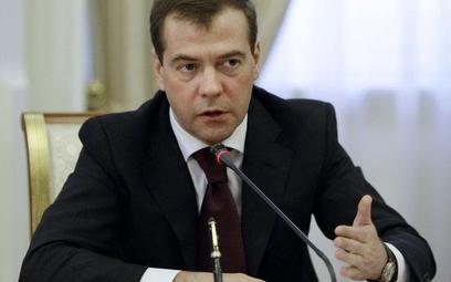 Prezydent Dmitrij Miedwiediew