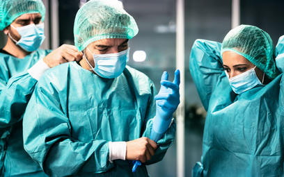 Lekarz z oddziału zakaźnego bez dodatku covidowego. Dlaczego?