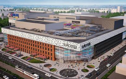 Centrum Sukcesja powstaje w Łodzi. Należy do dwóch największych obiektów handlowych, których otwarci